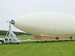 25m級飛行船の放船装置