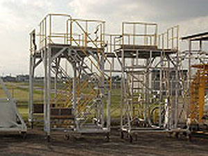 航空機整備用足場